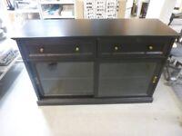 IKEA LEEDS, MALSJÖ Sideboard basic unit, black stained145x92 cm. #BargainCorner