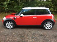 2007 Mini Cooper PEPPER 1.6 (1 Years MOT & 5 stamps in the Service History)
