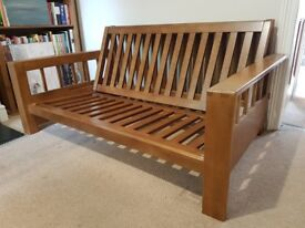 Futon sofa bed, frame only