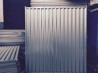 STEEL HOARDING PANEL/FENCE/BARRIERS/MILD STEEL /SITE/CONSTRUCTION 2.0m(h) & 2.4m(h) NEW