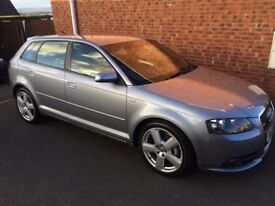 Audi A3 FSI S Line Sportback *Full MOT -Immaculate Condition with Low Mileage*