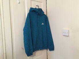 Adidas Blue Coat Jacket Size S
