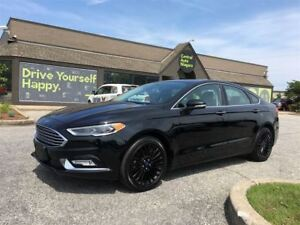 2017 Ford Fusion SE/ AWD / NAVIGATION /LEATHER/SUNROOF