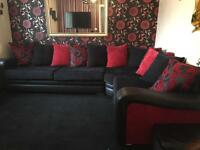Sofa with reversible designs