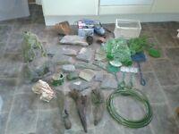 Job lot aquarium items