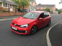 2009 VOLKSWAGEN GOLF GTI DSG TURBO RED
