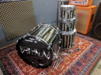 """Tama Starclassic B/B Performer in Black Clouds and Silver Linings 22"""" no mount, 10"""", 12"""",16"""""""