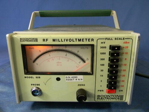 Boonton 92B RF Millivoltmeter