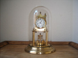 JUF Jahresuhrenfabrik 400 day clock anniversary clock torsion clock