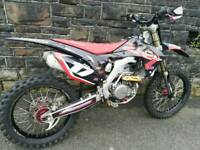 Crf 450 2014 twin pipe bargain