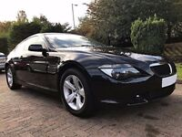 BMW 6 Series 3.0 630Ci 2dr 1 Owner F/S/H-11 Stamps
