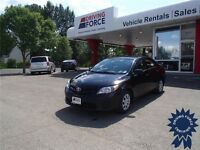 Black 2013 Toyota Corolla CE Front Wheel Drive Sedan, 33,404 KMs