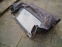 Ford Escort mk3 convertible cabriolet roof