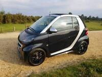 2014 (64) Smart ForTwo Grandstyle Cabrio Convertible very low mileage fun and beautiful car