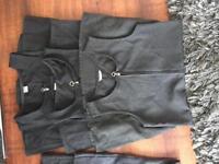 Age 8 grey school pinaform dresses x 8