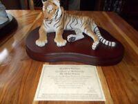 (Tibetan) Princess Tiger (Hand Painted) (Cost £149)