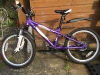Purple bike age 7 to 9 serviced perfect 😊