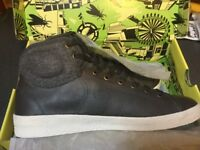 Men's Fly of London Hi-Top trainers size 10/44.New in box.