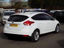 FORD FOCUS 1.5 ZETEC EDITION TDCI 5d 118 BHP ** Sat Nav - DAB - BTooth ** (white) 2017
