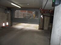 Secure underground car parking space to rent in central Leeds