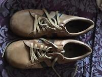 Men's leather trainers size 8 designer brand Fly of London
