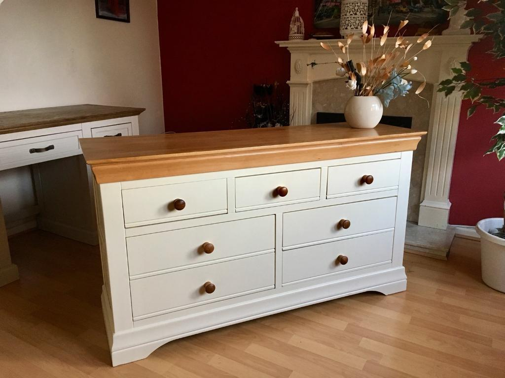Oak Furniture Land Country Cottage Chest In Tamworth Staffordshire