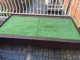 New Custom Made Garden Bed / Dog Loo For Sale