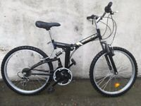 Foldable bike used twice. Men or ladies. 6 month old perfect condition.Totally new.