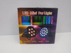 Power Pro Audio Mini Par LED Light. We Buy and Sell Used Pro Audio Equipment. 109639 CH703404