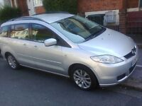 2008 Mazda 5 Diesel 2.0L Heavy, Powerful and Lovely, family car 7 SEATER MOT until 2017