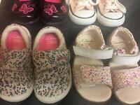 Baby Girl Shoes Good Condition