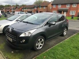 Peugoet 3008 sport 1.6 automatic, very low mileage