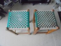 A pair of matching Stools