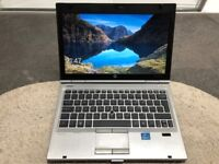 """HP EliteBook 2560p 12.5"""" 320GB, Intel Core i7 2nd Gen., 2.7GHz, 4GB Win 10 Pro"""