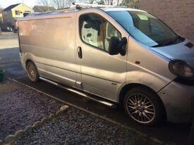 Vauxhall vivaro 06 lwb spares or repairs