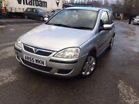 55 Plate - Vauxhall Corsa Sxi - 3 Door - 12 Months MOT - Warranted 70 K on clock
