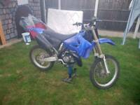 Yz 125cc motocross bike