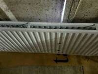 Large double radiator