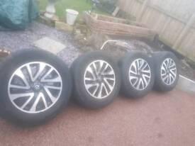 Nissan navara np300 wheels and tyres 255/60R 18XL
