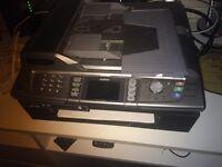 Brother MFC-820CW laser colour printer, copier, scanner & fax machine