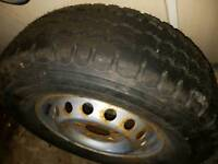 Mercedes sprinter brand new michelin tyre and rim 225/70/15
