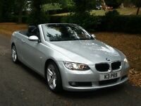 BMW 320 D , 33500 MILES ONLY BLACK LEATHER SEATS AND TRIM GREAT CONDITION INSIDE AND OUT .