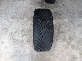 Two Used Goodyear Eagle F1 Tyres. 195 45 R16.