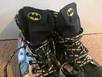 Batman converse trainers