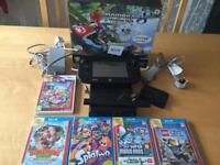 Wii U Premium Pack 32gb with 4 games and mario kart 8 built in