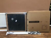 Shower tray with legs kit, brand new