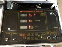 9003 Kane and May Boiler Combustion Analyser for parts or repair