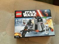 LEGO 75132 Star Wars - First Order Battle Pack Set (New) - Collect Only