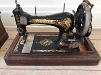 Transitional Singer Sewing Machine