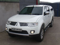 Mitsubishi L200 Warrior, full leather